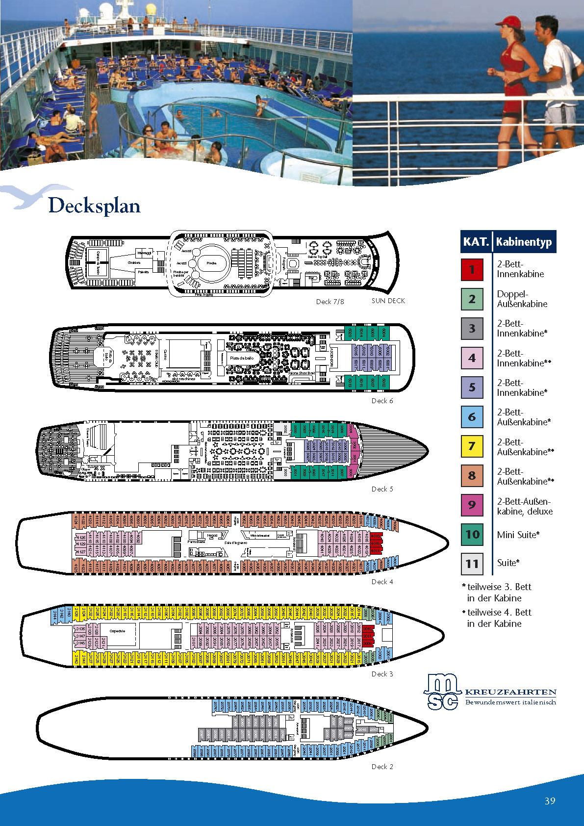 MSC - MSC Rhapsody Kreuzfahrt, Kreuzfahrtschiff