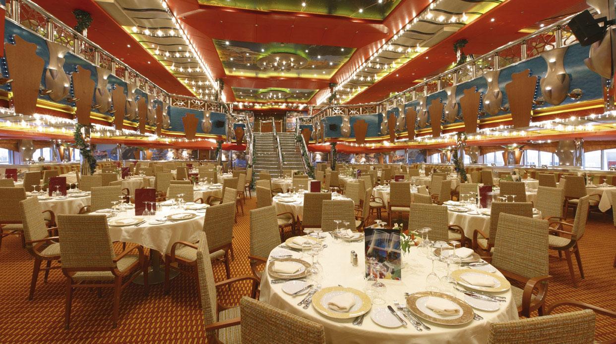 Costa Deliziosa Club Restaurant