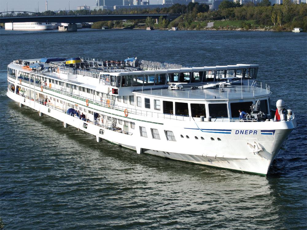nicko tours - MS Dnepr Flusskreuzfahrt, Flusskreuzfahrtschiff