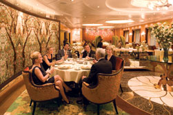 Das Central Park Restaurant auf der Royal Caribbean Oasis of the Seas